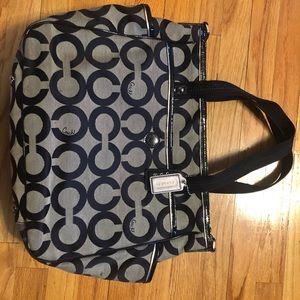 Authentic Coach Diaper Bag